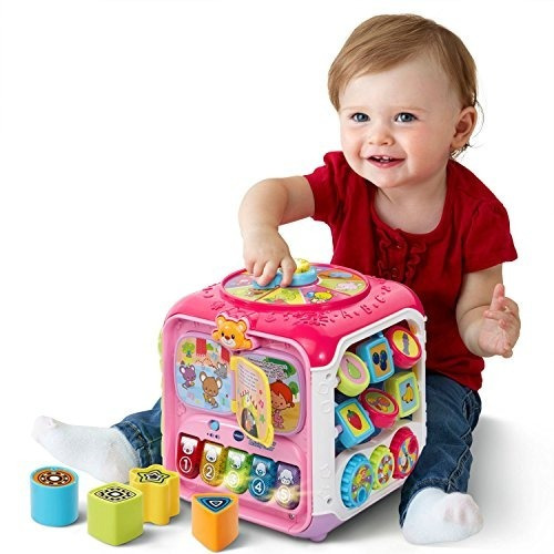 Vtech Sort And Discover Activity Cube, Pink