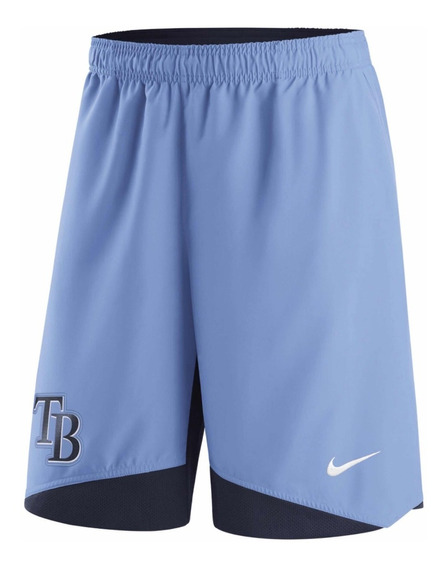 Short Nike Béisbol Usa Dri Fit Mlb Tampa Bay Rays Talle Xl