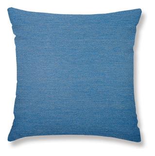 Capa 45 X 45 Cm Denim Jacquard Azul Lartex