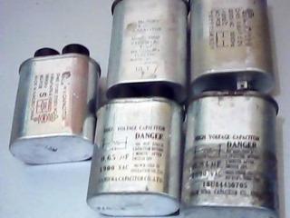 Capacitor De Microondas De Diferentes Microfaradios