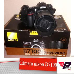 Câmera Nikon D7100 Completinha (estado De Nova) Kit Vr