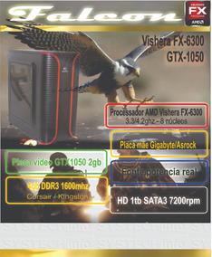 Computador Amd Fx 6300 4gb Gtx1050 Falcon