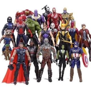 Muñecos Marvel Avengers Articulados Thanos Hulk Spiderman