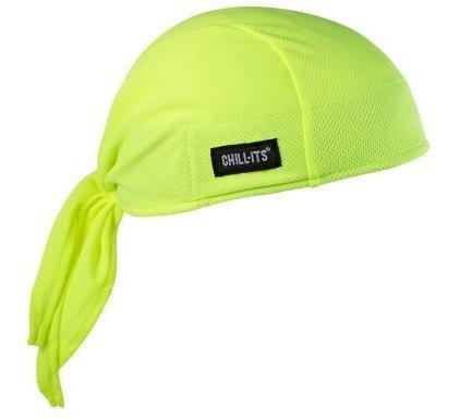 Chillits 6615 Absorptive Moisturewicking Dew Rag Lime
