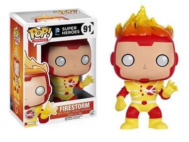 Funko Pop - Firestorm Nuclear Dc Comics Super Heroes