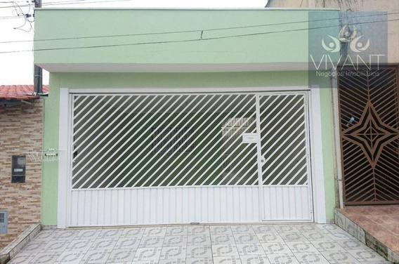 Casa Com 2 Dormitórios À Venda, 155 M² Por R$ 385.000 - Jardim Revista - Suzano/sp - Ca0214