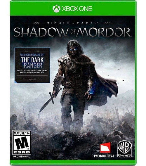 Middle Earth Shadow Of Mordor - Nacional - Xbox One