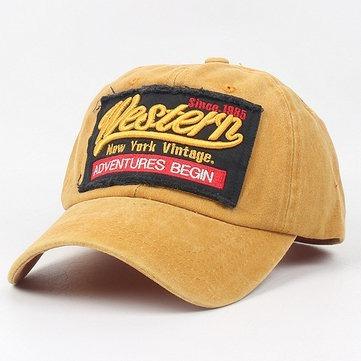 Gorra Vintage Western Gastada Trucker Regulable Jean Estampa
