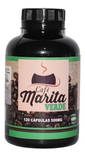 Café Marita, Verde,120 Cápsulas, 500 Mg