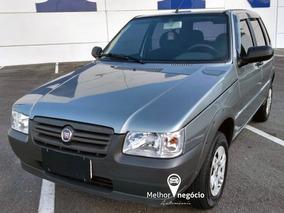 Fiat Uno Mille Way Economy 1.0 4p Flex 2013 Cinza