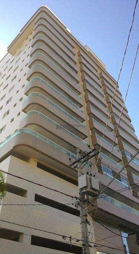 Apartamento Com 2 Dorms, Ocian, Praia Grande - R$ 350 Mil, Cod: Ap0007 - Vap0007