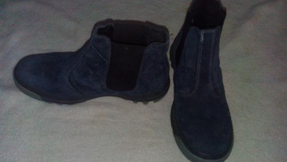Botas De Gamuza Azul , Merrell Talle 37