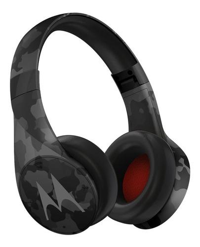 Imagen 1 de 4 de Auriculares inalámbricos Motorola Pulse Escape+ black camo