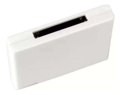 Adaptador Bluetooth 30 Pinos Para Dock - Branco