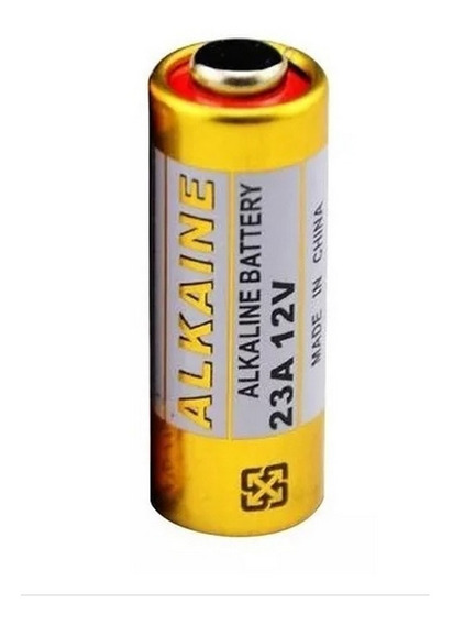 Bateria Pilha 23a 12v Alcalina Alarme Portão Controle Led