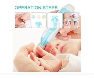 Cortador Pulidor De Uñas Eléctrico Para Bebe Bebes - T1806