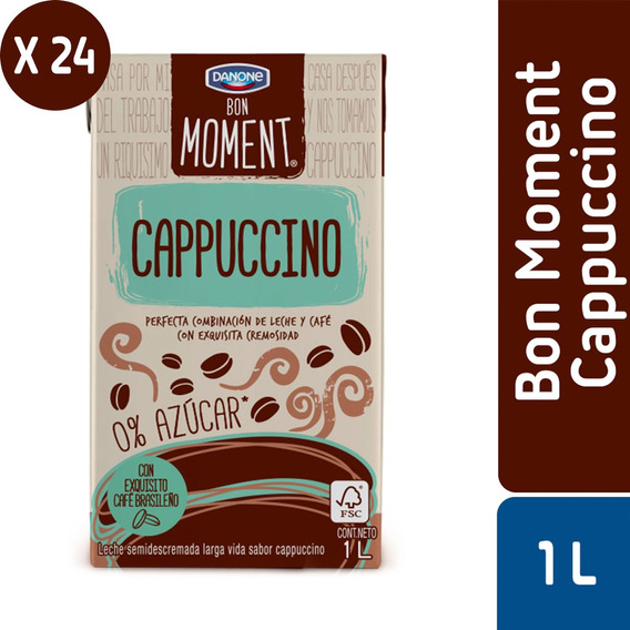 Pack 24 - Danone Moments Capuc 1 L
