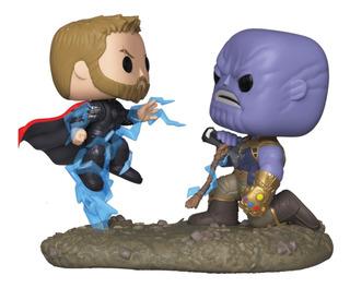 Funko Pop Movie Moments Marvel 707 Thor Vs Thanos
