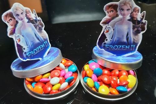 Frozen  3d  Latitas Personalizadas Rellenas (precio X 5 )