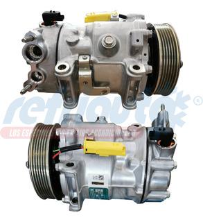 Compresor Peugeot Partner 13/19 L4 1.6l. Diesel Sd7c16 6 Ran
