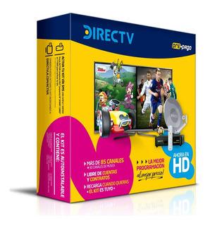 Kit Prepago Direct Tv Antena De 46 Cm