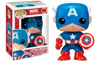 Black Friday Funko Pop Capitan America 06 Marvel