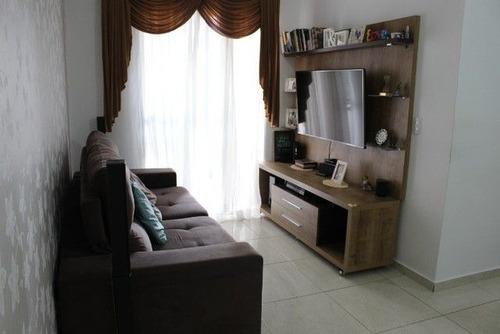 Imagem 1 de 16 de Apartamento Com 2 Dormitórios À Venda, 54 M² Por R$ 320.000 - Vila Santa Terezinha - Carapicuíba/sp - Ap4782