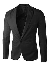 Mens Slim Fit Casual Blazer Premium