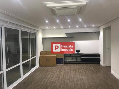 Apartamento Para Alugar, 167 M² Por R$ 7.000,00/mês - Jardim Marajoara - São Paulo/sp - Ap29285