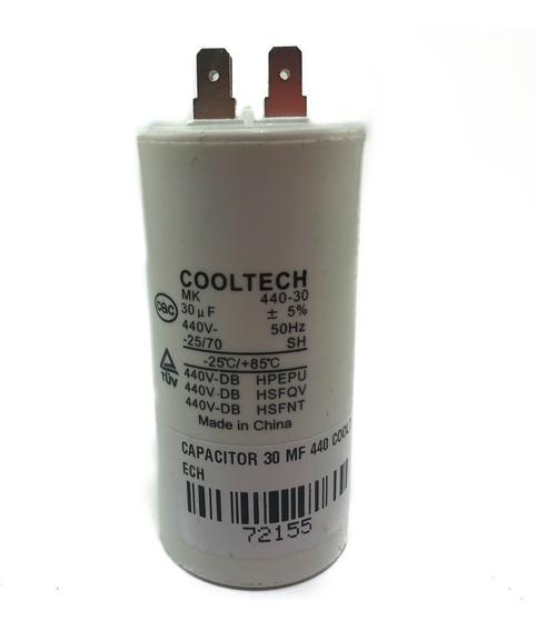 Capacitor De Marcha Cooltech 30 Mf 440