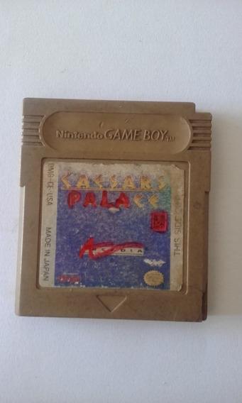 Fita Game Boy Caesars Palace Original