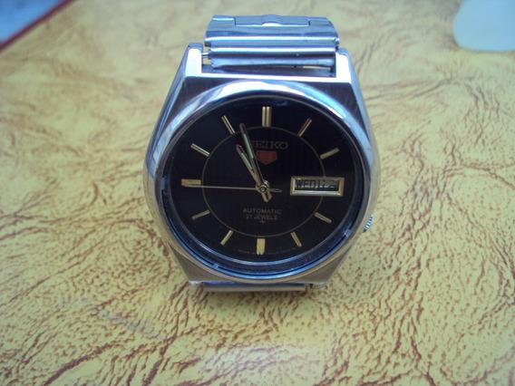Relógio Seiko 21 Rubis Preto
