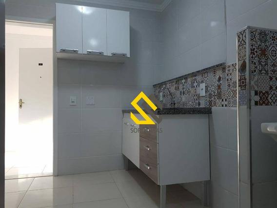 Apartamento Com 2 Dormitórios À Venda, 53 M² Por R$ 200.000,00 - Condomínio Portal Dos Bandeirantes - Sorocaba/sp - Ap0586