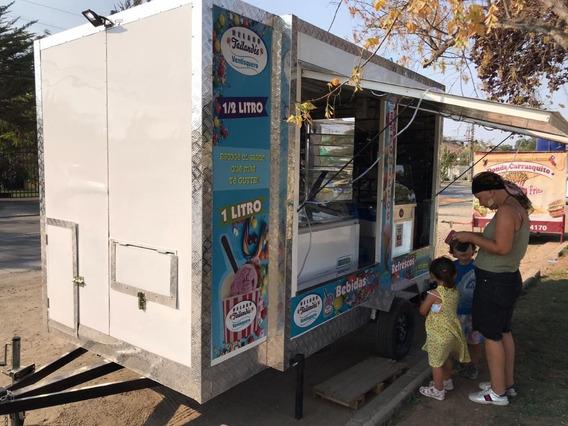 Se Vende Foodtruck Para Helados Tailandés Y Barquillos