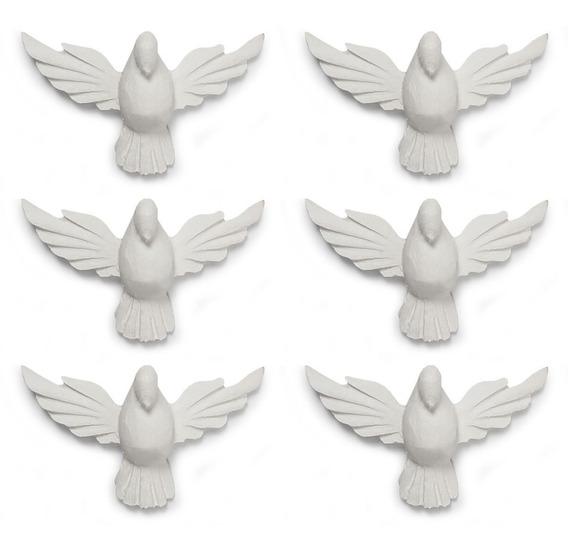 Divino Espírito Santo Aplique Resina Liso 10,7 Cm 6 Unidades