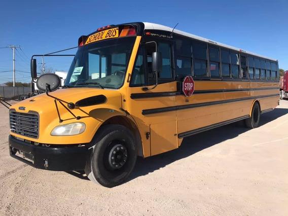 Autobus Camion Escolar 2008 Freightliner Cat C7 Frenos Aire