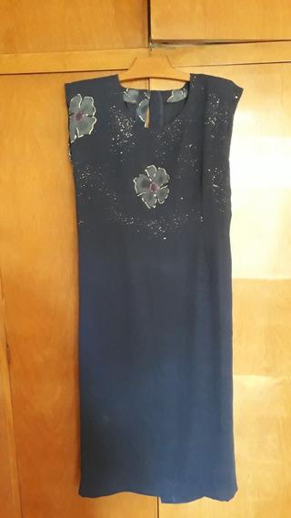 Vestido De Fiesta Para Señora Con Casaca