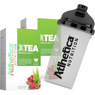 Kit 2 X-tea + Brinde Shaikera - Atlhetica