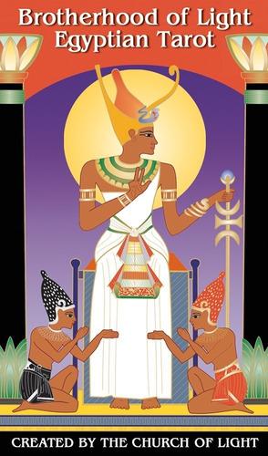 Imagen 1 de 5 de Tarot Egipcio Brotherhood Of Light , Instructivo En Ingles
