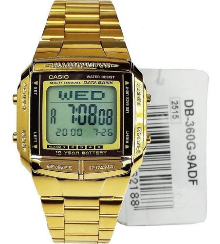 Reloj Casio Unisex Db-360g 100% Original Garantia 5 Años