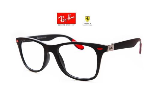2d22fa7ce4 Gafas Para Montura Ray Ban Ferrari - 4 Diseños Disponibles