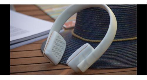 Imagen 1 de 2 de Auricular Vincha Qcy50 Bluetooth
