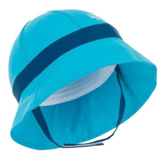 Chapéu Para Bebês Com Proteção Solar Anti Uv Azul