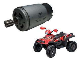 Motor De Tração Para,quadriciclo Infantil Polaris Peg Perego