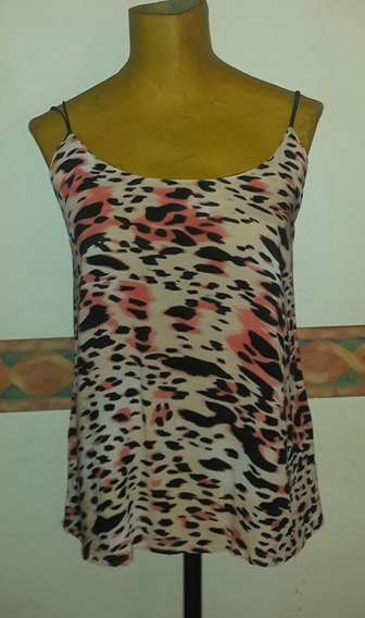 Top Animal Print.t S .san Isidro