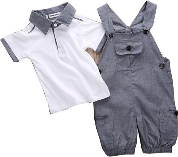 Traje Para Bebe Tirantes Babynova T 21 :)