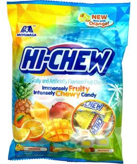 Dulce Chicloso Hi-chew Tropical Mix Kiwi, Piña Y Mango