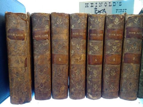 Tito Livio Patavini Historiarum 1775 Barbou 7 Tomos Latín