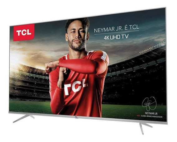 Smart Tv Tcl 50 Led Ultra Hd 4k 50p6us