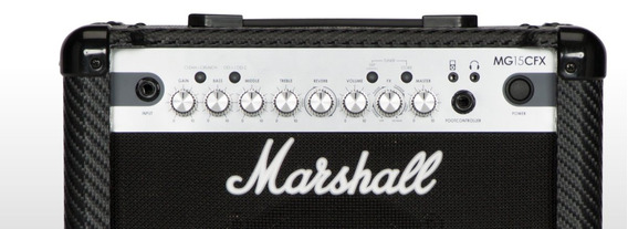 Amplificador De Guitarra Mg15cfx Marshal